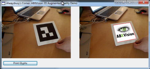 2D Augmented Reality Example