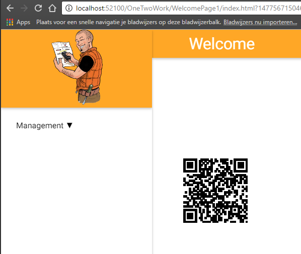 B4J: ABMaterial building a QR Code component – Alwaysbusy's Corner